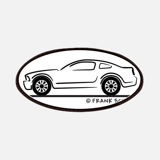 New Ford Mustang Fastback Patches
