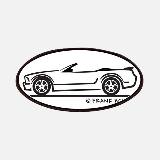 New Ford GT Mustang Convertib Patches