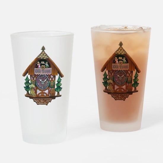 Old Town Oktoberfest Drinking Glass