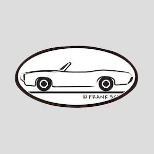 1969 Pontiac GTO Convertible Patches
