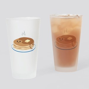 Breakfast Time Drinking Glass