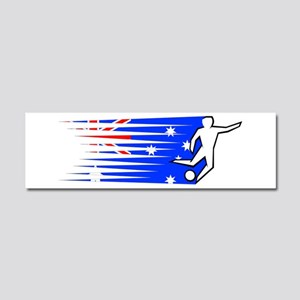 Football - Australia Car Magnet 10 x 3
