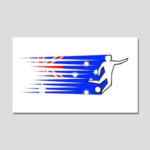 Football - Australia Car Magnet 20 x 12