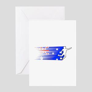 Football - Australia Greeting Card