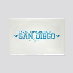 NSB San Diego Rectangle Magnet