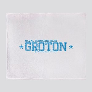 NSB Groton Throw Blanket