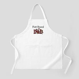 Plott Hound Dad BBQ Apron