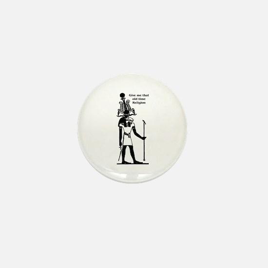 Old Time Religion Mini Button