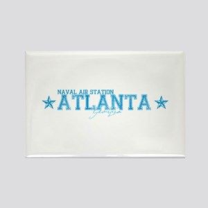 NAS Atlanta Rectangle Magnet