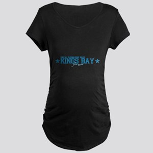 NSB Kings Bay Maternity Dark T-Shirt