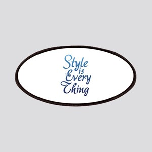 Style is Everything Patches