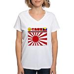 Kyokujitsu-z Women's V-Neck T-Shirt