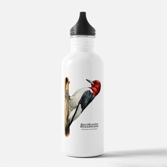 Red-Headed Woodpecker Water Bottle