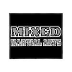 Mixed Martial Arts Throw Blanket