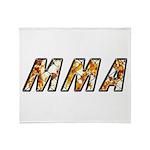 MMA Throw Blanket