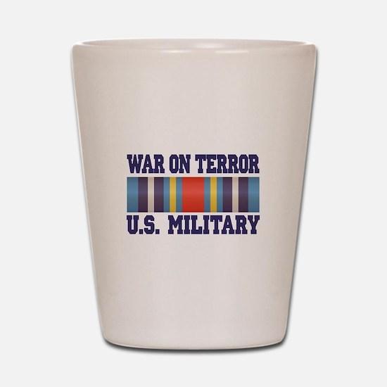 War On Terror Shot Glass