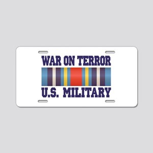 War On Terror Aluminum License Plate