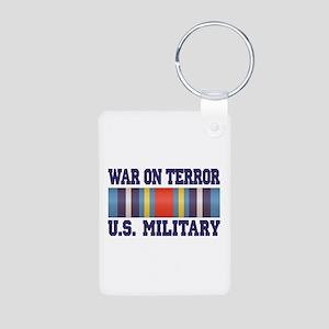 War On Terror Aluminum Photo Keychain