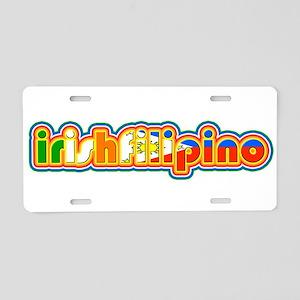 IrishFilipino Aluminum License Plate