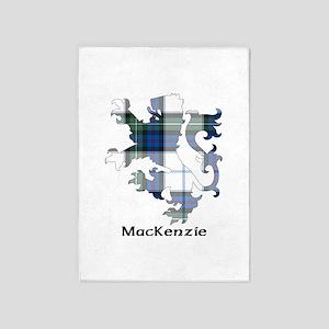 Lion-MacKenzie dress 5'x7'Area Rug