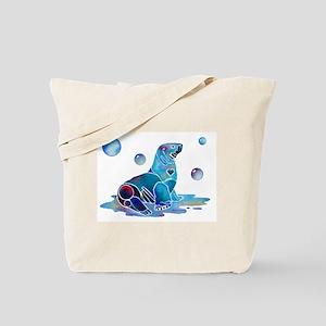 Salty Seal Tote Bag