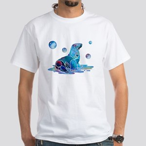 Salty Seal White T-Shirt