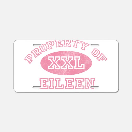 Property of Eileen Aluminum License Plate