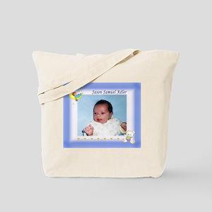 Boy on Moon Personalized Tote Bag - Custom