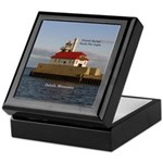 Duluth Harbor South Pier Light Keepsake Box