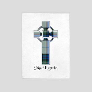 Cross-MacKenzie dress 5'x7'Area Rug