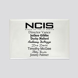 NCIS Characters Rectangle Magnet