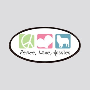 Peace, Love, Aussies Patches