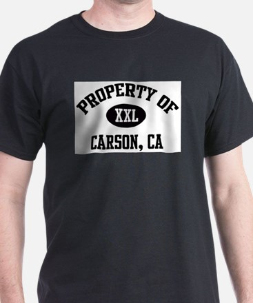 Property of Carson Ash Grey T-Shirt