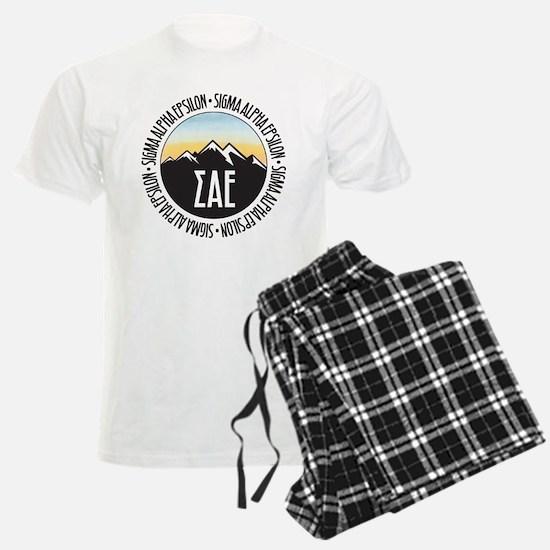Sigma Alpha Epsilon Sunset Pajamas