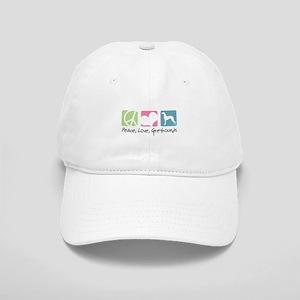 Peace, Love, Greyhounds Cap