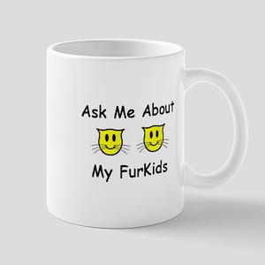 2CatFurKids2 Mugs