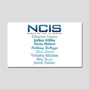 NCIS Characters Car Magnet 20 x 12