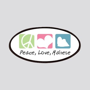 Peace, Love, Maltese Patches