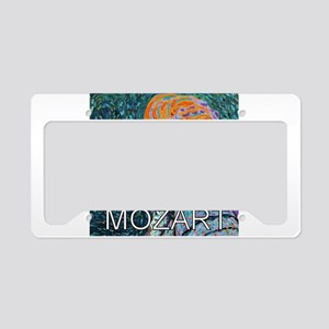 Mozart in a Whirl License Plate Holder