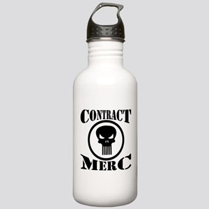 Contract Merc Skull Stainless Water Bottle 1.0L