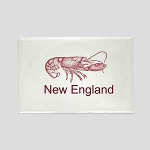 New England Rectangle Magnet