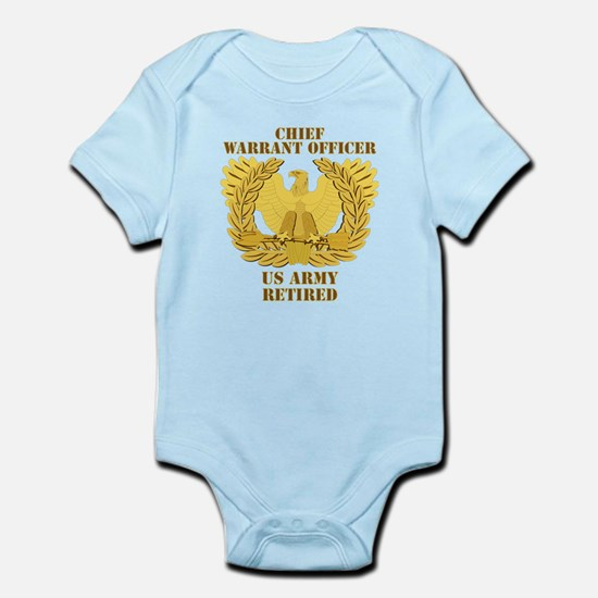 Army - Emblem - CWO Retired Infant Bodysuit