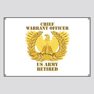 Army - Emblem - CWO Retired Banner