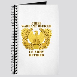 Army - Emblem - CWO Retired Journal