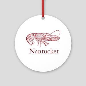Nantucket Ornament (Round)