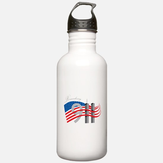 Remembering 911 Water Bottle