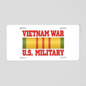 Vietnam War Aluminum License Plate