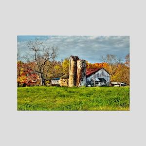 Rural Landscape Rectangle Magnet