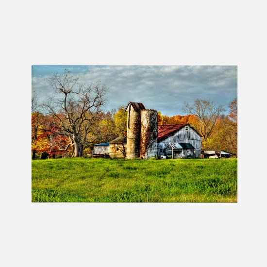 Rural Landscape Rectangle Magnet