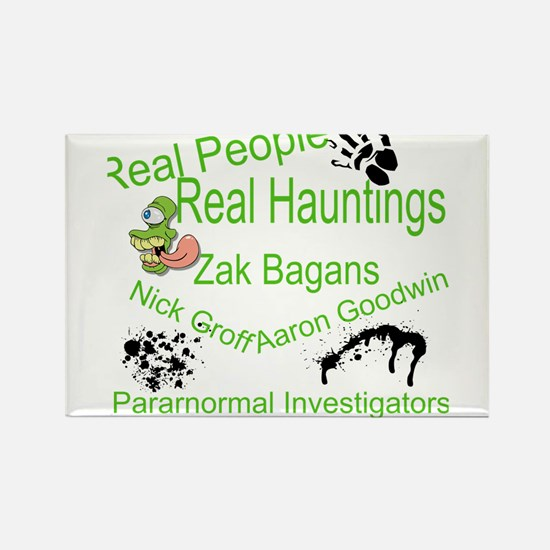 Paranormal Humor Rectangle Magnet